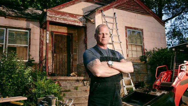 """This undated photo provided by FOX shows professional contractor Mike Holmes, who has a new show called """"Home Free."""""""