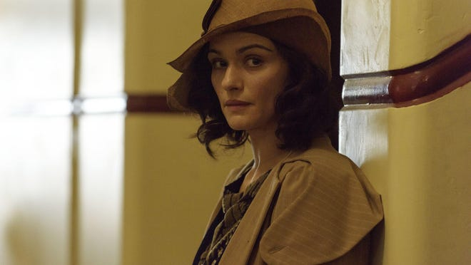 """This image released by Dreamworks II shows Rachel Weisz in a scene from, """"The Light Between Oceans."""""""