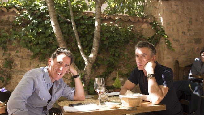 "Steve Coogan and Rob Brydon in ""The Trip to Spain."""