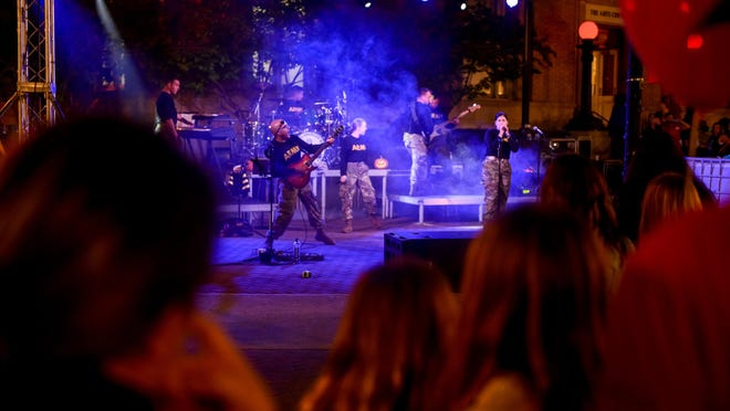 The Zombie Walk and Prom will take place Oct. 22 in downtown Fayetteville.