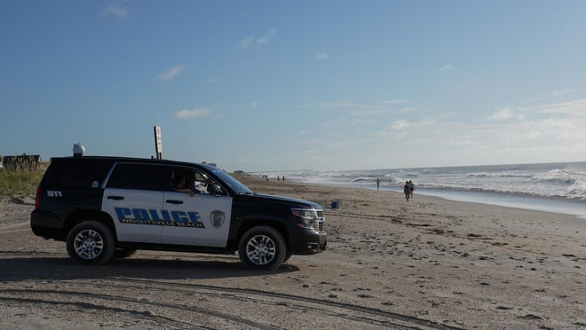 A former Wrightsville Beach police officer has been indicted on bribery charges.