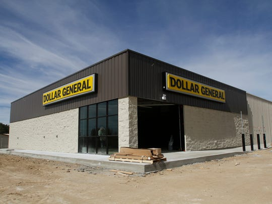 Construction continues on a new Dollar General store on March 21 in Flora Vista.