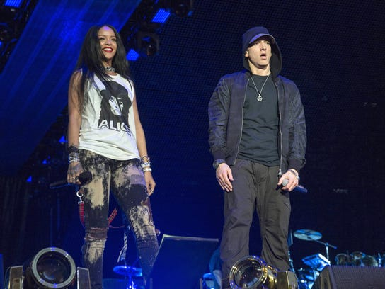 Eminem delivered one of his strongest hometown performances