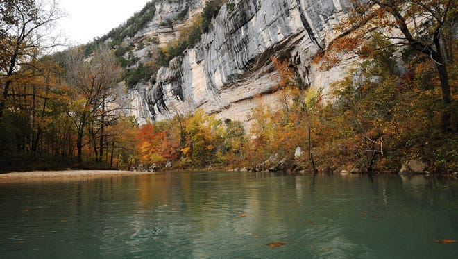 A Texas man has died of unknown causes after an outing on the Buffalo River.