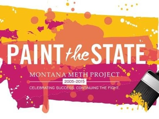 "The 2015 ""Paint the State"" logo."