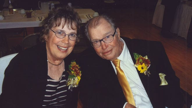 Gladys and Charles Schommer, who made their home in Sturgeon Bay and raised four children, celebrated their 50th wedding anniversary last month.