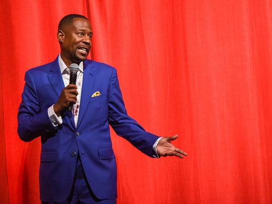 Martin Lawrence performs at the Hermitage Grand Gala