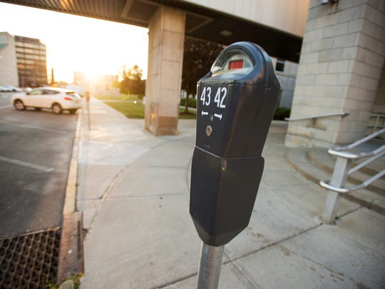 Among the items discussed in Binghamton Mayor Richard David's 2017 Budget Address was that downtown parking meters will be replaced by kiosks by the end of the year.