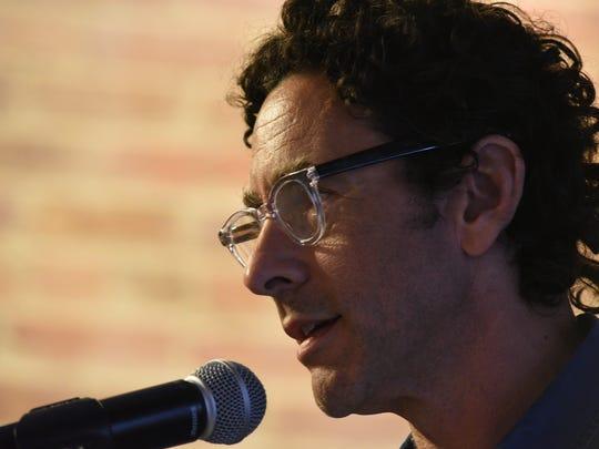 Gregory Kallenberg speaks at the Louisiana Film Prize