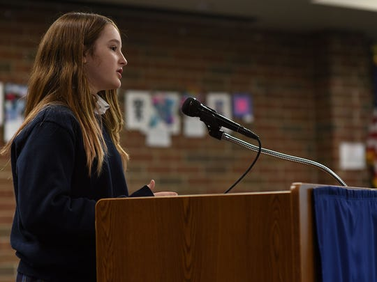 Tess McNulty talks about gun violence and immigration