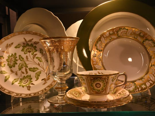 Dishes at Shreveport's Lewis' Gifts.