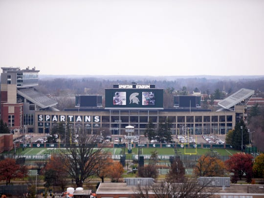 Spartan Stadium pictured on Monday, Nov. 28, 2016 at
