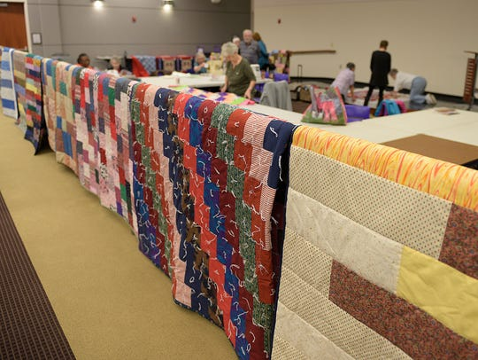 Farmington Library Quilters estimate they've donated