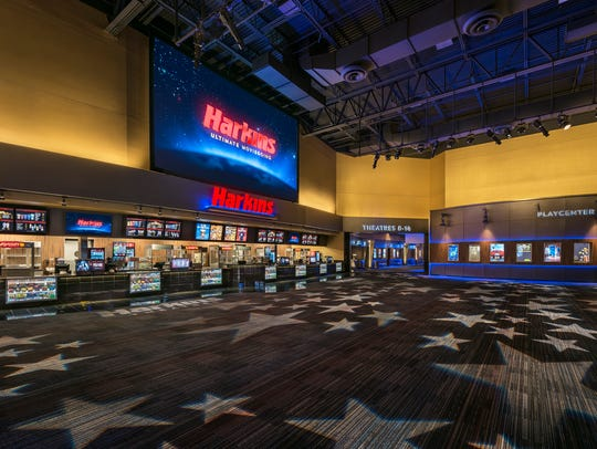 Harkins Camelview lobby.