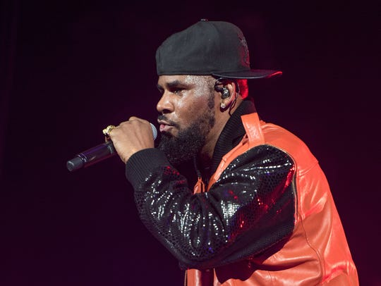 R. Kelly performs in concert at Barclays Center on