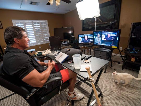 Jose Canseco's Las Vegas studio affords him the comforts