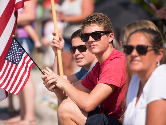 The annual Stuart Memorial Day Parade and Ceremony