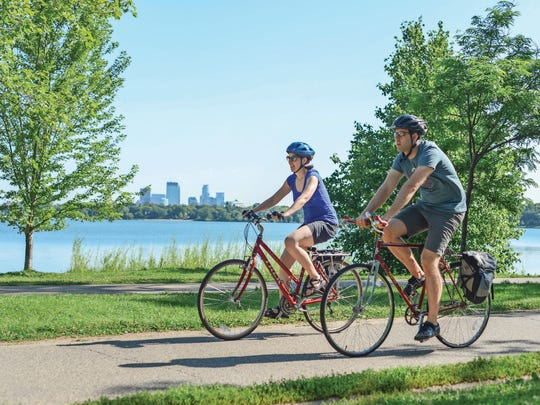 A cycling vacation can be as adventurous or leisurely