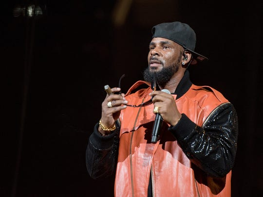 R. Kelly performs in concert in 2015.