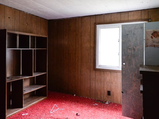 A look at one of the bedrooms in the home on Durfee