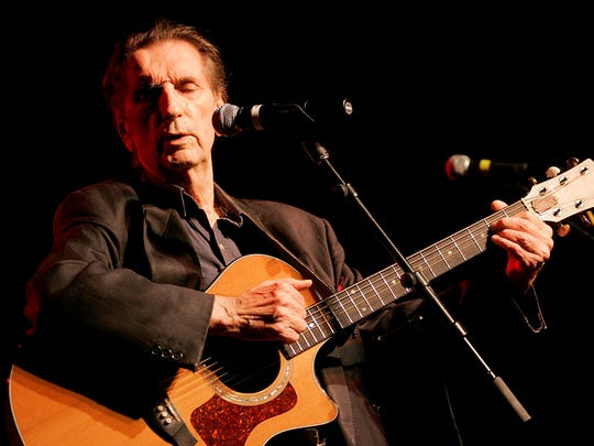 Harry Dean Stanton performs at the 35th anniversary