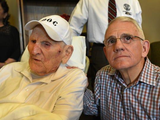 Dr. Tom Deas, a 101-year-old World War II veteran,