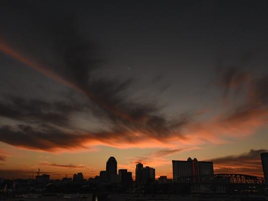 Shreveport-Bossier City skyline