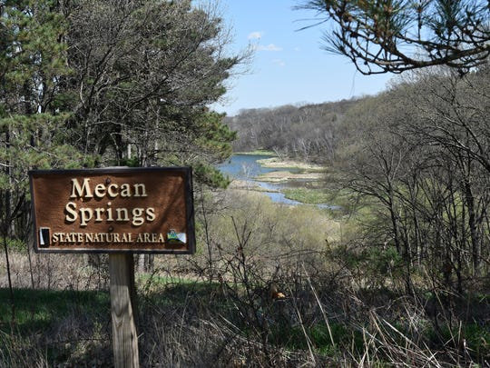 The Mecan Springs State Natural Area is one of countless