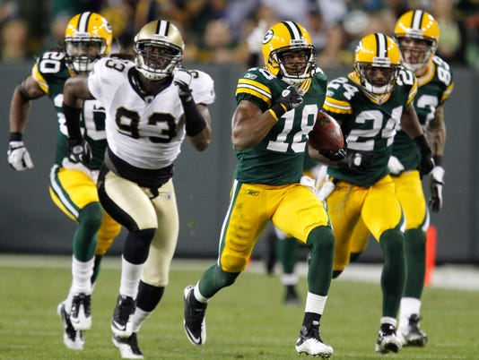 2011, Randall Cobb, Saints