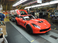 Corvettes are assembled at the General Motors Bowling