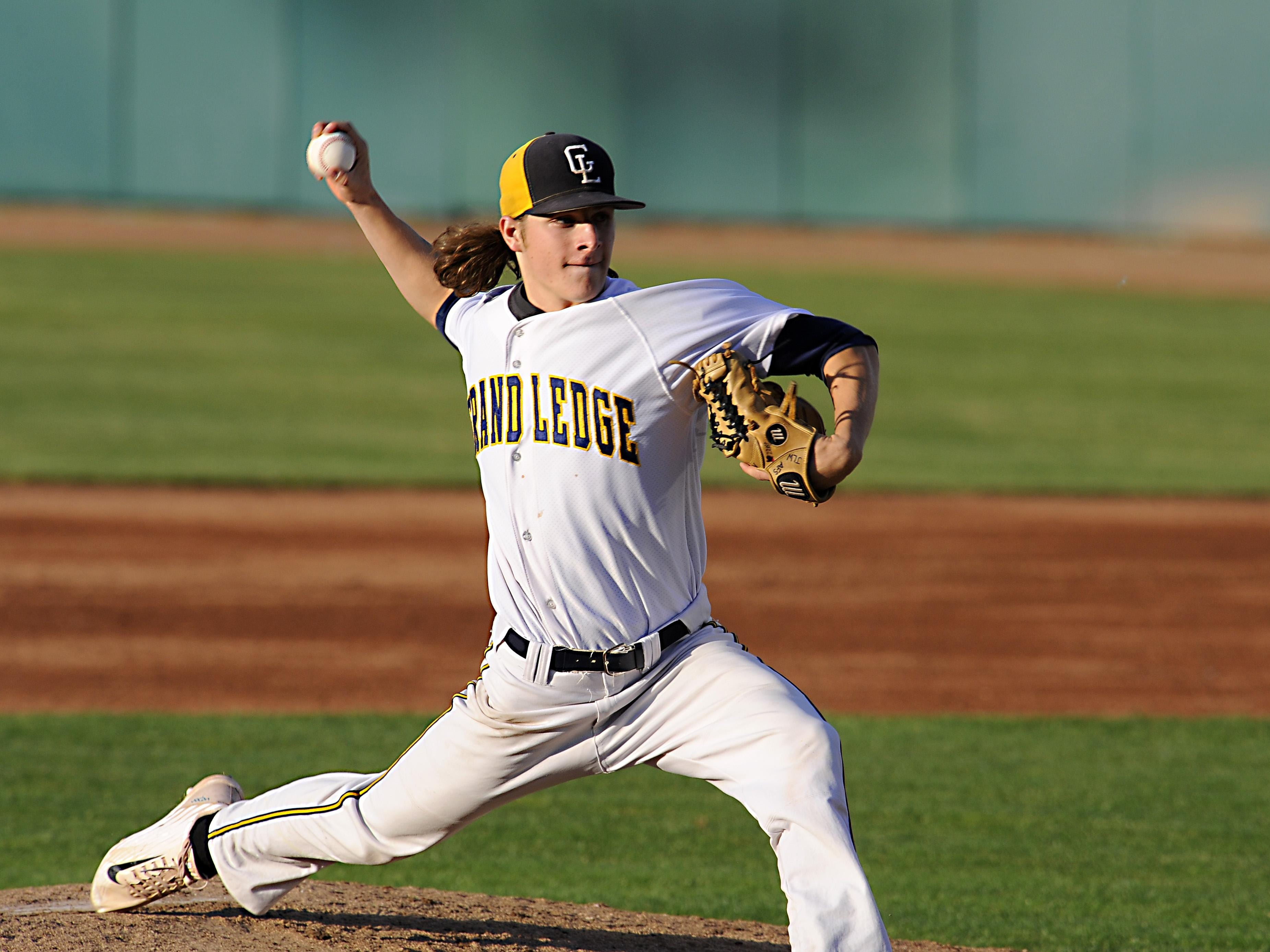 Tyler Waldrop was 10-1 with 118 strikeouts and a 0.50 ERA this spring for Grand Ledge.