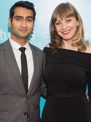 'The Big Sick' co-writers Kumail Nanjiani, left, and