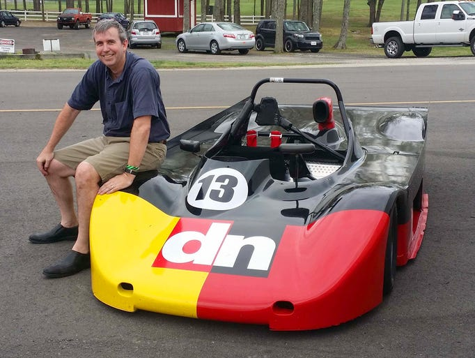 Detroit News Auto Critic Henry Payne and his 1988 Lola