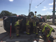 BCFR extracts person after crash in West Melbourne.