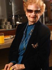 Ruth Freeman, owner of Aunt Martha's Pancake House,