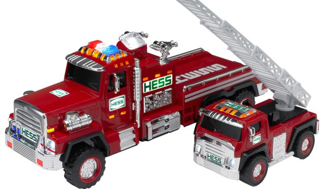 The 2015 Hess truck.