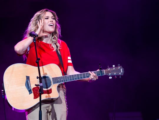 Rachel Platten, a last-minute sub as an opening act