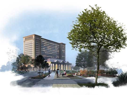 Rendering provided by Ford Motor Company of the proposed