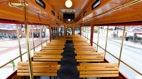 The new Lunchlink trolley route will offer a special midday service on Fridays to those dining in and around the downtown area.