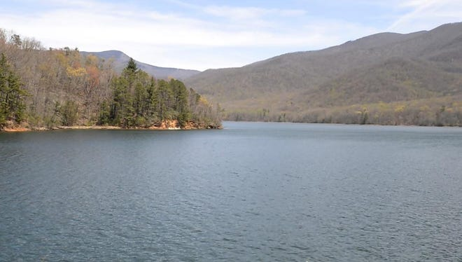 The North Fork Reservoir, outside Swannanoa, is a rare thing - a naturally-preserved water shelter, according to Lab Supervisor Brenna Cook. This means the water is completely surrounded by nature, which greatly decreases the chance of contamination.