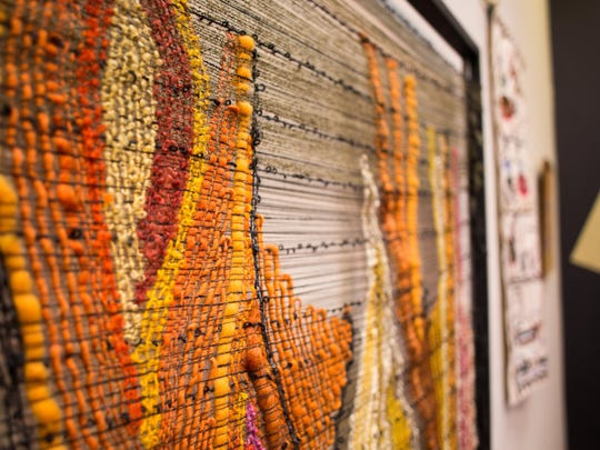 The Art Center of Battle Creek offers many tactile pieces that patrons are encouraged to touch.
