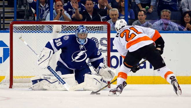 Last time the Flyers came to Tampa, they lost the NHL's first ever 3-on-3 overtime.