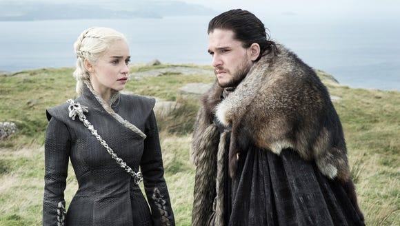It's a Targaryen family reunion and Dany (Emilia Clarke)