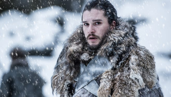 Jon Snow on 'Game of Thrones' Season 7 Episode 6, 'Beyond the Wall.'