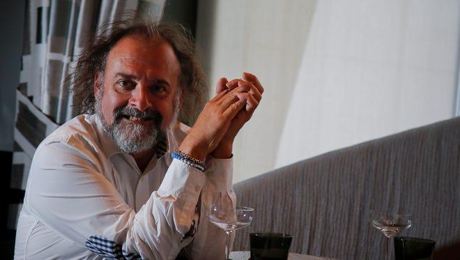 L Restaurant co-owner and executive chef Jean-Robert de Cavel
