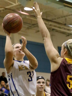 Lexy Breen scored a career-high 25 points in her first-ever start as a captain for Newport Central Catholic this season.