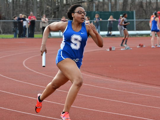 Salem's Brynna Samuels is a top returning sprinter.