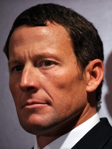 A file photo from Feb. 28, 2011 shows  Lance Armstrong