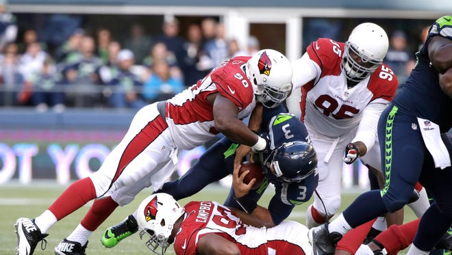 A victory over the Seahawks would assure the Cardinals of their third division title in seven years.