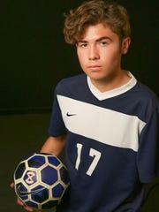 La Quinta soccer player Lucas Rosales.